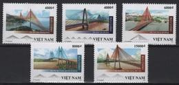 Vietnam (2019) - Set -  /  Architecture - Bridges - Ponts - Puentes - Ponti