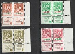Israel 1982-83 N° 942-945 MNH Série Courante En Paire (F2) - Israel
