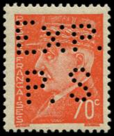 "FRANCE Poste ** - 511, Perforé ""Expo Saumur"", Signé: 70c. Orange (Spink) - Cote: 60 - France"