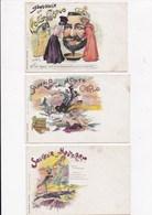CP ILLUSTRATEUR DECAVE Souvenir De MONTE CARLO LOT DE 6 CARTES - Ansichtskarten