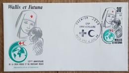 Wallis Et Futuna - FDC 1988 - YT N°377 - CROIX ROUGE ET CROISSANT ROUGE - FDC