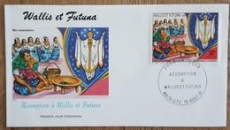 Wallis Et Futuna - FDC 1991 - YT N°415 - Assomption - FDC
