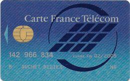 CARTE A PUCE CHIP CARD CARTE TÉLÉPHONE SALON DÉMONSTRATION GSM CARTE FRANCE TELECOM - France