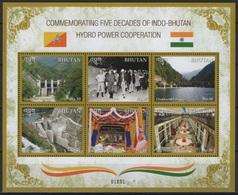 Bhutan (2019) - MS -   /  India Cooperation - Energie - Energy - Barrage - Electricity - Electricite - Elettricità
