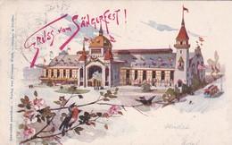 GRUSS VOM SANGERFEST. ALLEMAGNE CARTE POSTALE ENTIER, CIRCULEE ANNEE 1896. -LILHU - Allemagne
