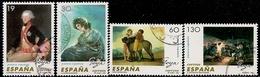 1996-ED. 3437 A 3440- COMPLETA- PINTURA ESPAÑOLA. FRANCISCO DE GOYA Y LUCIENTES-USADO - 1931-Hoy: 2ª República - ... Juan Carlos I