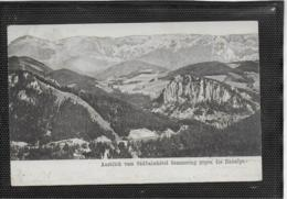 AK 0400  Semmering - Ausblick Vom Südbahnhotel Gegen Die Raxalpe Um 1905 - Semmering