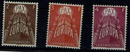 LUXEMBOURG 1957 EUROPA CEPT MI No 572-4 MNH VF!! - Europa-CEPT