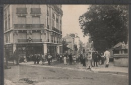 MAISONS-LAFFITTE (78) Avenue De Poissy ANIMÉE [ Attelage - Café Tabac De L'Arrivée ] - Maisons-Laffitte