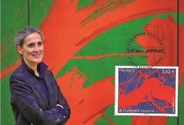 France 2019 - Fabienne Verdier Maximum Card - Croce Rossa