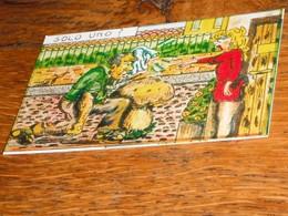 Carte Escargot Champignon Jardin Potager - Old Paper