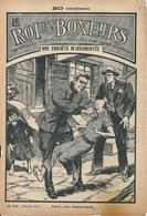 """Le Roi Des Boxeurs N°173 1935 """"Une Enquête Mouvementée"""" José Moselli - Aventure"""