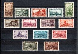 SARRE N° 107 à120  NEUFS AVEC CHARNIERES COTE 55.00€   SITE  INDUSTRIE  VOIR DESCRIPTION - Unused Stamps