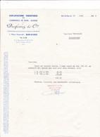 55-Desfossez...Exploitations Forestières-Commerce De Bois-Scierie...Bar-le-Duc   (Meuse) 1922 - France