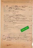 VP16.584 - VIENNE 1943 - Transaction Immobilière Entre Mrs GILI à UGINE Non Juif & MOUNIER  Non Juif - Historische Dokumente
