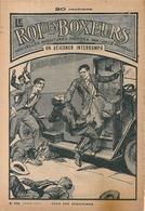 """Le Roi Des Boxeurs N°170 1935 """"Un Déjeuner Interrompu"""" José Moselli - Aventura"""