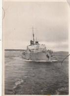 PHOTO - Corvette Française A L'arrivée A Saint Pierre Miquelon - Warships