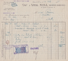 55-V.Noll...Machines Agricoles..Bar-le-Duc...(Meuse)...1926 - Agricultura