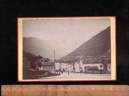 Photographie Ancienne :  ALBERTVILLE  SAvoie Vers 1880/90 - Places