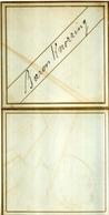 Superbe Rare Menu Adressé Au BARON KNORRING 1er Septembre 1881 - Menus