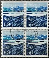 1991 Lago Moesola Viererblock MiNr: 1459 - Switzerland