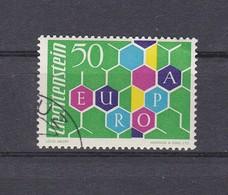 Liechtenstein 1960  Nr 355 Gest, Zeer Mooi Lot Krt 4845 - Oblitérés