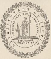 Héraldique Colmar An 2 - 13.10.1793 Signature Foussedoire Sujet: Prêtres - Documents Historiques