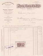 55-P.Boyer....Quincaillerie Générale.. Verdun.. (Meuse)..1927 - Petits Métiers
