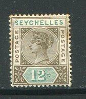 SEYCHELLES- Y&T N°15- Neuf Avec Charnière * (signé Au Dos) - Seychelles (...-1976)