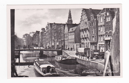 Amsterdam O.Z Voorburgwal Bateau Péniche VOIR ZOOM Camions Anciens Citroën ? VOIR DOS - Amsterdam
