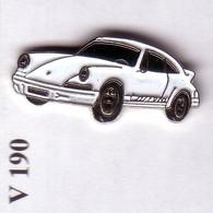 V190 Pin's PORSCHE Blanche Achat Immédiat - Porsche