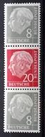 BRD 1960, ZD Michel S50Y, MNH Postfrisch - [7] Federal Republic