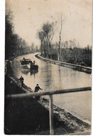 Nièvre FOURCHAMBAULT Carte-photo Canal Péniche - Sonstige Gemeinden