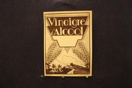 A.V.B.2 / Distillerie Stokerij -  Vinaigre D'Alcool  ( Déposé 1000 Litho Myncke.  Bruxelles ) - Autres