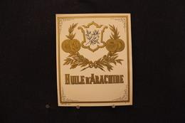 A.V.B.2 / Distillerie Stokerij -  Huile D'Arachide   ( Déposé 300 )  9,5 X 11,5 Cm - Autres