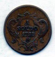 ITALΙAN STATES - GORIZIA, 1 Soldo, Copper, Year 1788-F, KM #C4.1 - Andere
