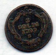 ITALΙAN STATES - GORIZIA, 2 Soldi, Copper, Year 1799-S, KM #C9.5 - Andere