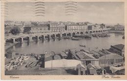 CARTOLINA  - CATANIA - PORTO VECCHIO - VIAGGIATA 1938 - Catania
