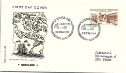 GROENLAND - GRONLAND - FDC  22.AUG.1978  /  2 - FDC