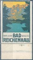 """Vignette  """"Bad Reichenhall - Bayr. Alpen""""         Ca. 1910 - Germania"""
