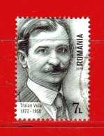 Romania - ° 2018 -  TRAIAN VUIA.  Usato - 1948-.... Repúblicas