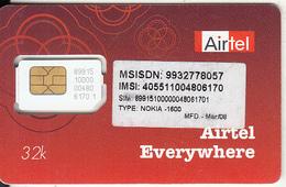 INDIA - Airtel GSM, Mint - India