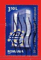 Romania - ° 2008 - European Central Bank. Yvert 5302 Usato - 1948-.... Repúblicas