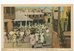 Market Square Roseau  Dominica BWI - Dominique