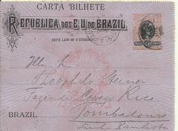 1905   200 Rs  Carta Bilhete   Casa Da Moeda   Used - Postwaardestukken