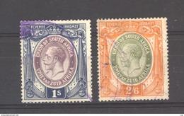 Afrique Du Sud  :  2 Timbres Fiscaux à 1 Et 2/6 S.  (o) - Used Stamps