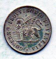 ITALΙAN STATES - VENEZIA, 15 Centesimi, Silver, Year 1848, KM #C184 - Altri