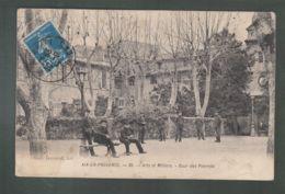CPA - 13 - Aix-en-Provence - Arts Et Métiers - Cour Des Pierrots - Aix En Provence