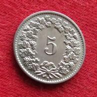 Switzerland 5 Rappen 1946 KM# 26 Suiça Suisse Svizzera Schweiz Suiza - Suisse