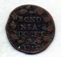 ITALΙAN STATES - BOLOGNA (PAPAL STATE), 1 Quattrino, Copper, Year 1742, KM #C1 - Andere